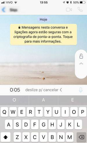 Recurso já está disponível para iOS