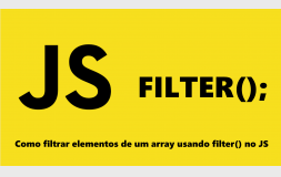 Como filtrar elementos de um array usando filter no JS