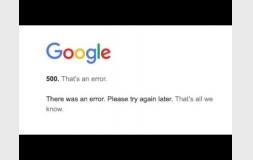 Google fora do ar? Youtube, Google Drive e mais serviços não funcionam